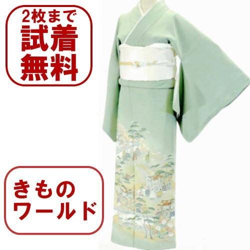 色留袖 レンタル 791番 20点フルセットレンタル 往復送料無料|kimono-world