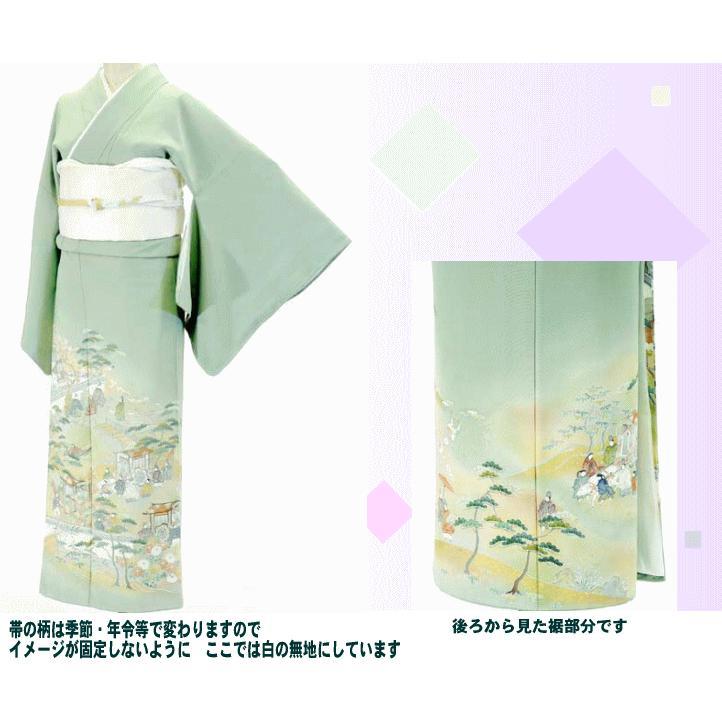 色留袖 レンタル 791番 20点フルセットレンタル 往復送料無料|kimono-world|02