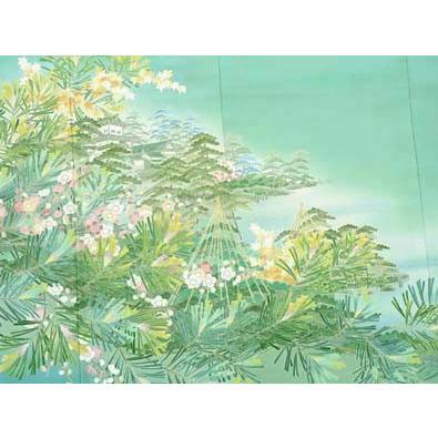 色留袖 レンタル 796番 20点フルセットレンタル 往復送料無料|kimono-world|04