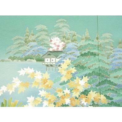 色留袖 レンタル 796番 20点フルセットレンタル 往復送料無料|kimono-world|07