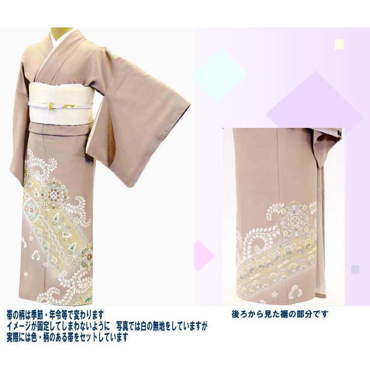 色留袖 レンタル 800番 20点フルセットレンタル 往復送料無料|kimono-world|02