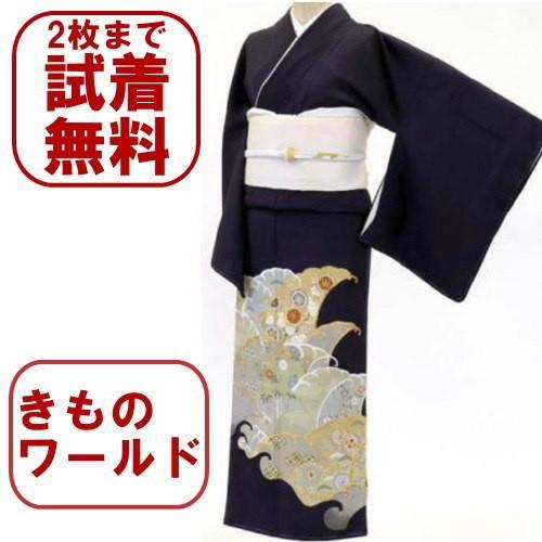 色留袖 レンタル 801番 20点フルセットレンタル 往復送料無料|kimono-world