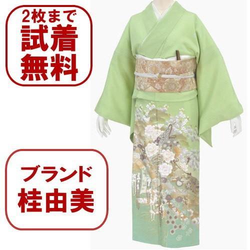桂由美 色留袖 レンタル 803番 20点フルセットレンタル 往復送料無料 kimono-world