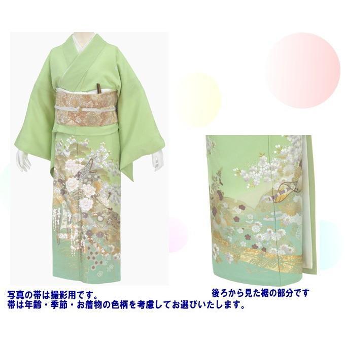 桂由美 色留袖 レンタル 803番 20点フルセットレンタル 往復送料無料 kimono-world 02
