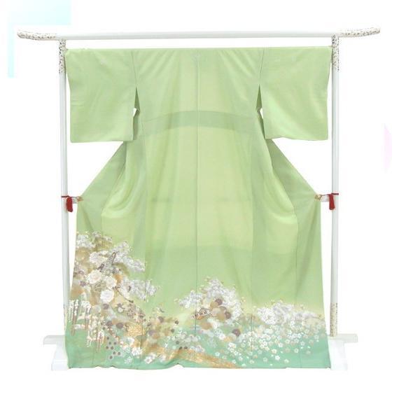 桂由美 色留袖 レンタル 803番 20点フルセットレンタル 往復送料無料 kimono-world 03