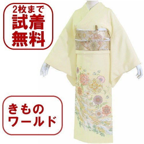 色留袖 レンタル 805番 20点フルセットレンタル 往復送料無料 kimono-world