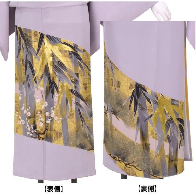 ブランド桂由美/竹林 色留袖 レンタル 807番 20点フルセットレンタル 往復送料無料|kimono-world|03
