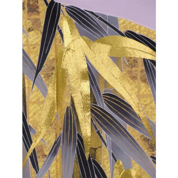 ブランド桂由美/竹林 色留袖 レンタル 807番 20点フルセットレンタル 往復送料無料|kimono-world|05