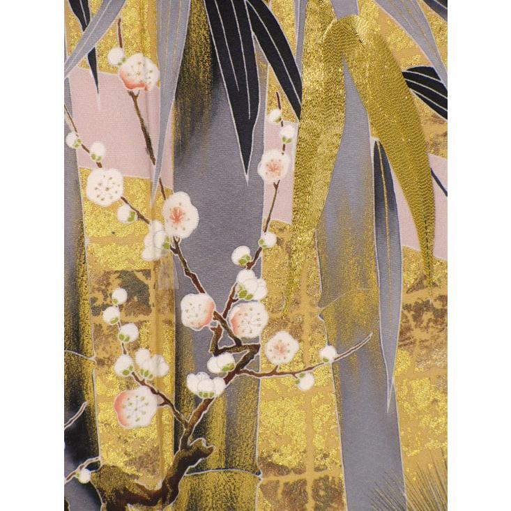 ブランド桂由美/竹林 色留袖 レンタル 807番 20点フルセットレンタル 往復送料無料|kimono-world|06