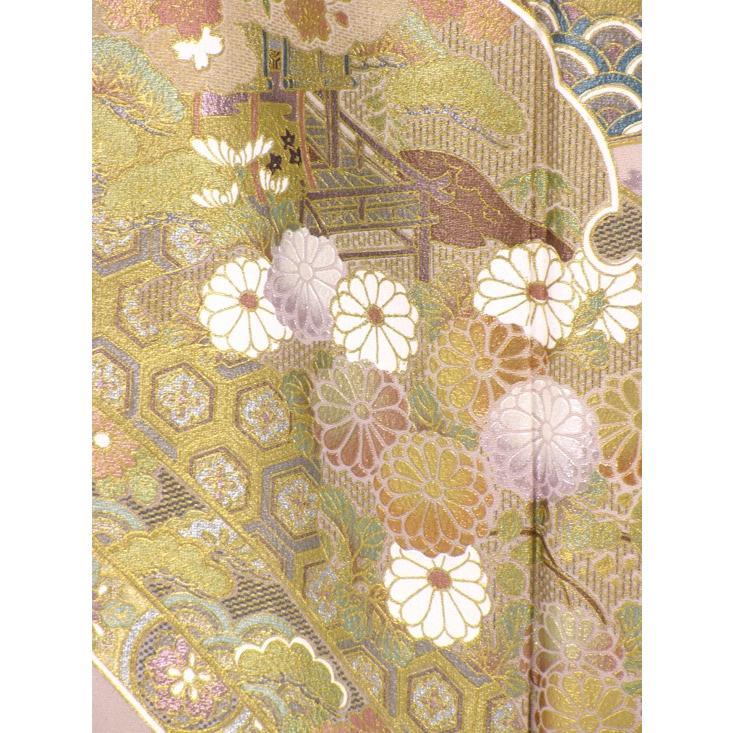 ブランド桂由美/古都の春 色留袖 レンタル 808番 20点フルセットレンタル 往復送料無料 kimono-world 06