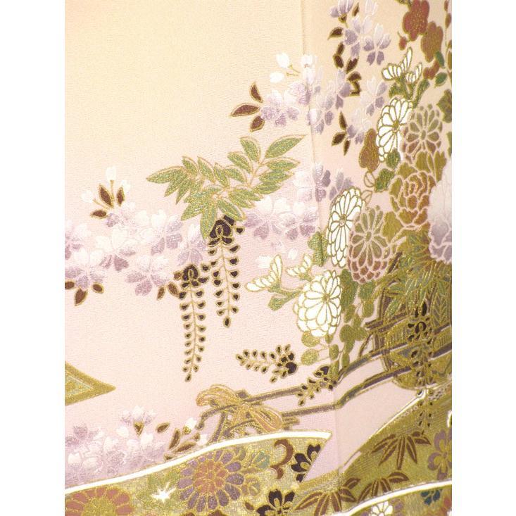 ブランド桂由美/古都の春 色留袖 レンタル 808番 20点フルセットレンタル 往復送料無料 kimono-world 07