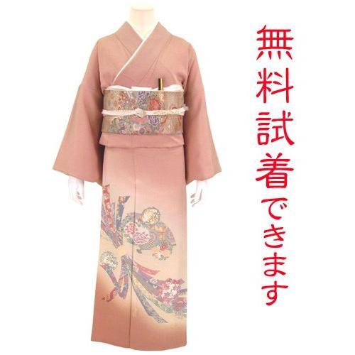 色留袖 レンタル 809番 20点フルセットレンタル 往復送料無料 kimono-world