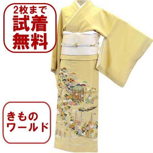 色留袖 レンタル 814番 20点フルセットレンタル 往復送料無料 kimono-world