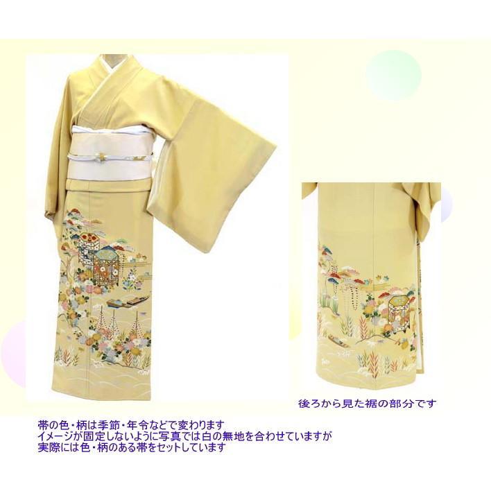 色留袖 レンタル 814番 20点フルセットレンタル 往復送料無料 kimono-world 02