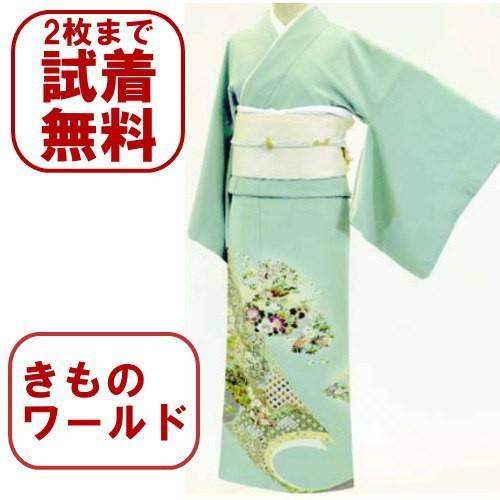 色留袖 レンタル 816番 20点フルセットレンタル 往復送料無料|kimono-world