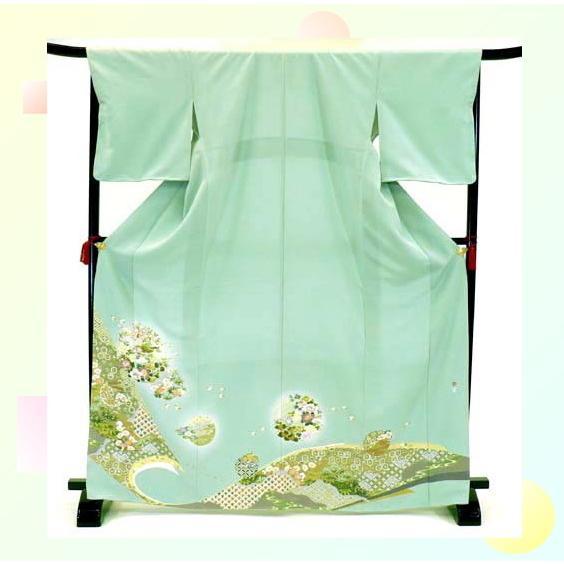 色留袖 レンタル 816番 20点フルセットレンタル 往復送料無料|kimono-world|03