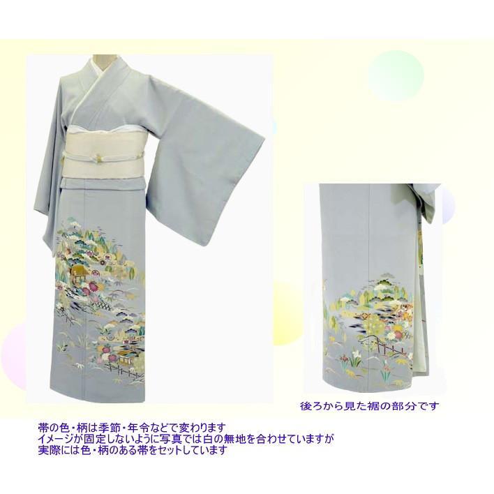色留袖 レンタル 817番 20点フルセットレンタル 往復送料無料|kimono-world|02