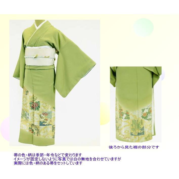 色留袖 レンタル 819番 20点フルセットレンタル 往復送料無料|kimono-world|02