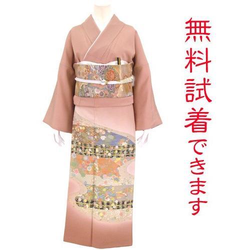 色留袖 レンタル 820番 20点フルセットレンタル 往復送料無料|kimono-world