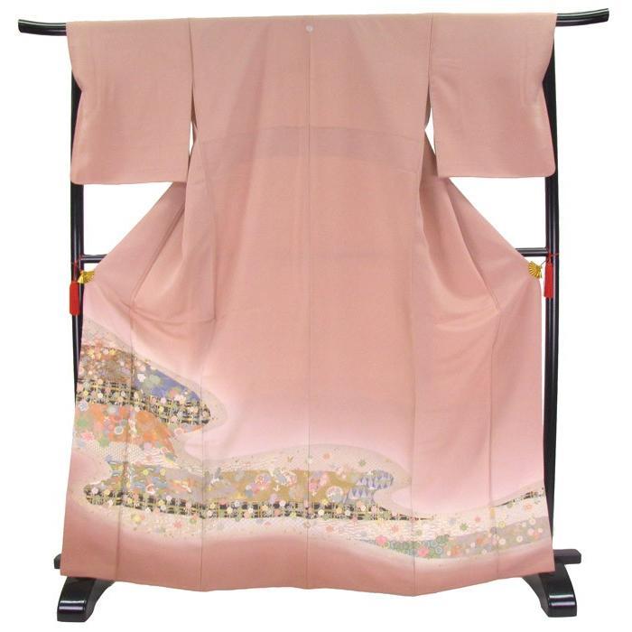 色留袖 レンタル 820番 20点フルセットレンタル 往復送料無料|kimono-world|02