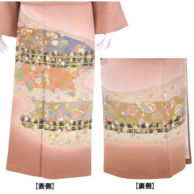色留袖 レンタル 820番 20点フルセットレンタル 往復送料無料|kimono-world|04