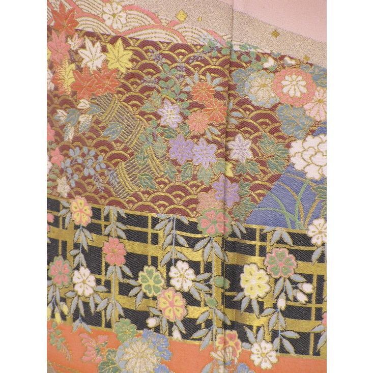 色留袖 レンタル 820番 20点フルセットレンタル 往復送料無料|kimono-world|05