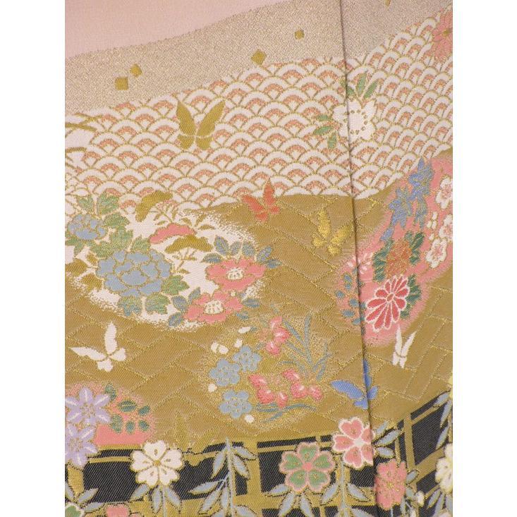 色留袖 レンタル 820番 20点フルセットレンタル 往復送料無料|kimono-world|07
