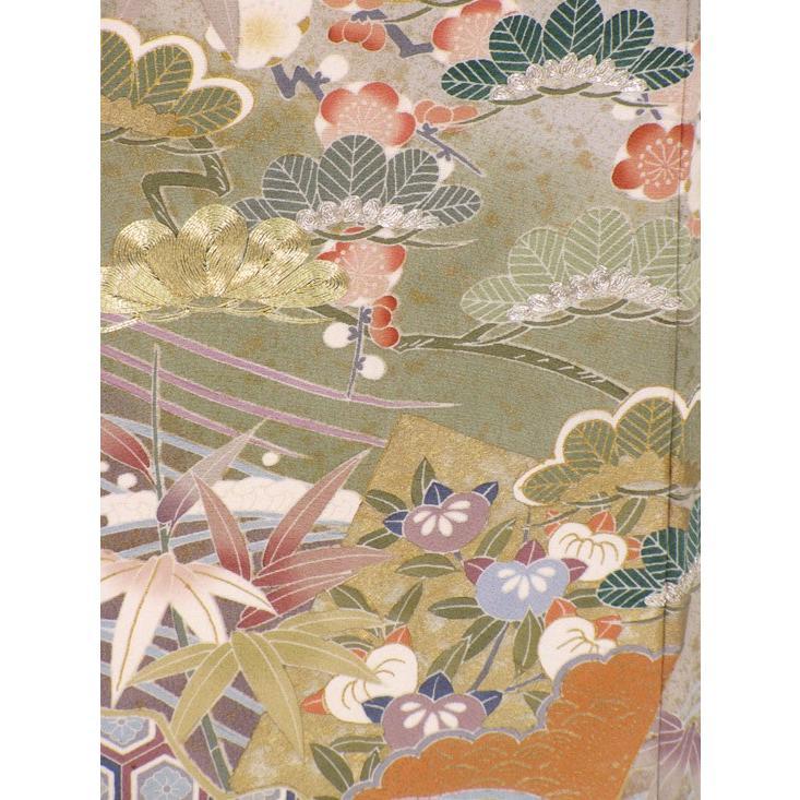 色留袖 レンタル 822番 20点フルセットレンタル 往復送料無料|kimono-world|06