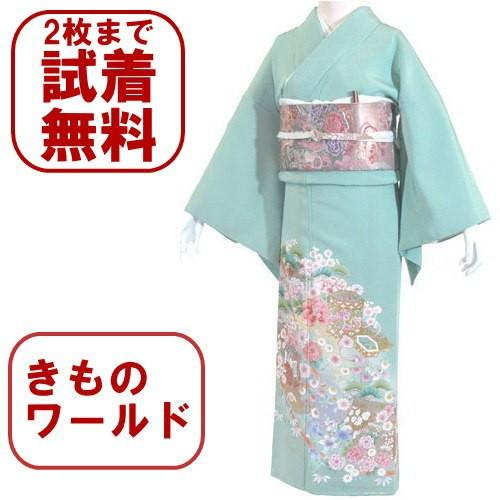 色留袖 レンタル 825番 20点フルセットレンタル 往復送料無料|kimono-world