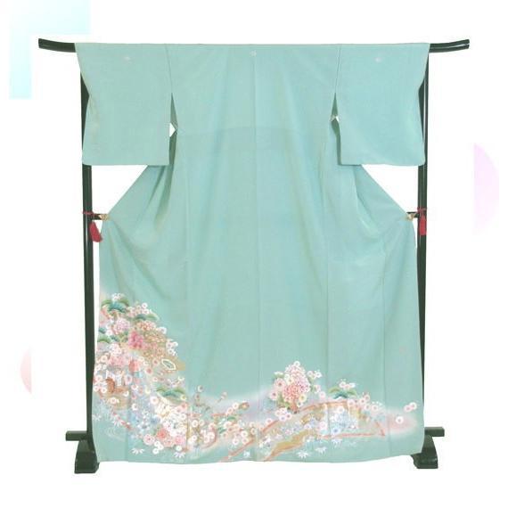 色留袖 レンタル 825番 20点フルセットレンタル 往復送料無料|kimono-world|03