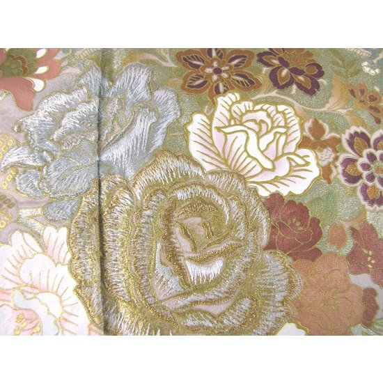 桂由美 薔薇の戯れ 色留袖 レンタル 834番 20点フルセットレンタル 往復送料無料|kimono-world|04