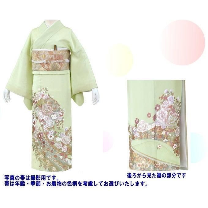 桂由美 花の訪れ 色留袖 レンタル 838番 20点フルセットレンタル 往復送料無料|kimono-world|02