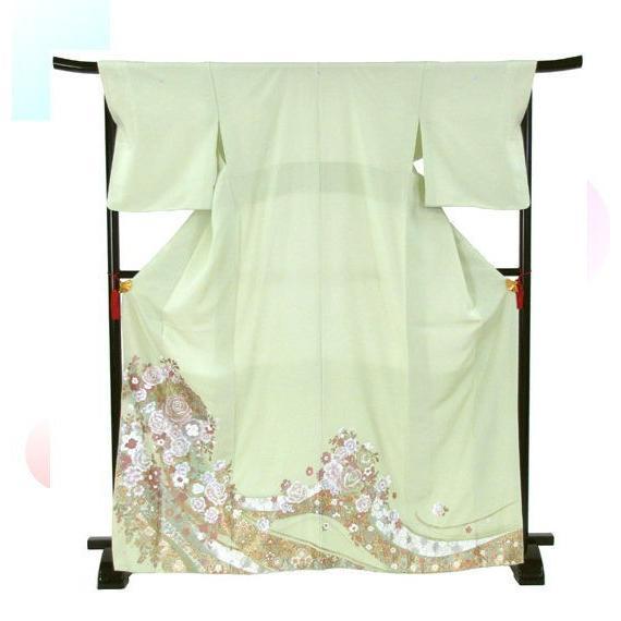 桂由美 花の訪れ 色留袖 レンタル 838番 20点フルセットレンタル 往復送料無料|kimono-world|03