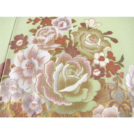 桂由美 花の訪れ 色留袖 レンタル 838番 20点フルセットレンタル 往復送料無料|kimono-world|06
