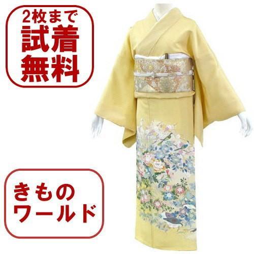 色留袖 レンタル 840番 20点フルセットレンタル 往復送料無料|kimono-world