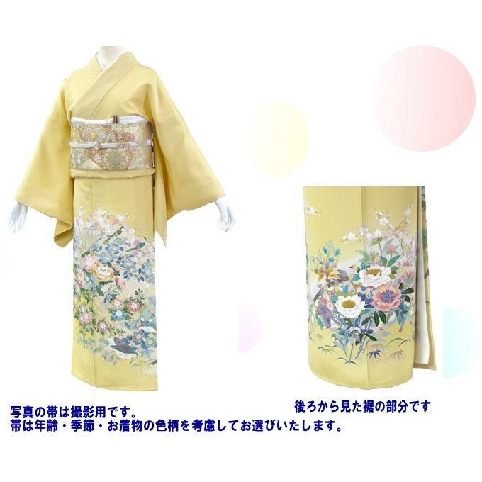色留袖 レンタル 840番 20点フルセットレンタル 往復送料無料|kimono-world|02