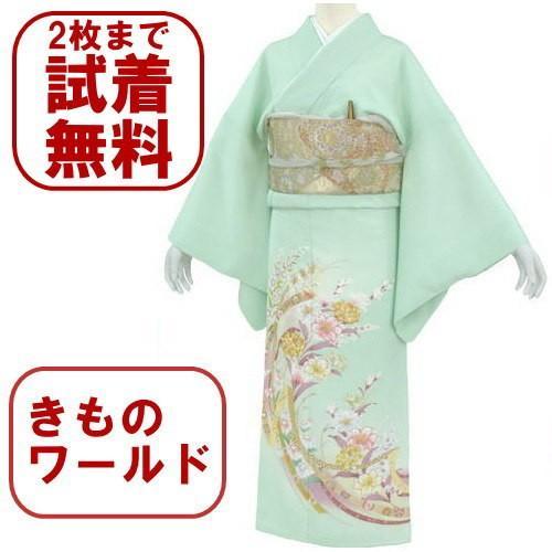 色留袖 レンタル 843番 20点フルセットレンタル 往復送料無料|kimono-world