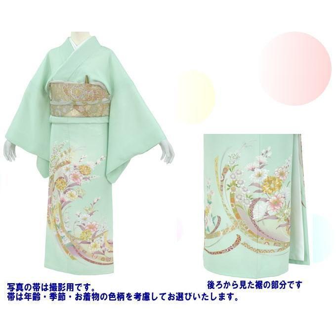 色留袖 レンタル 843番 20点フルセットレンタル 往復送料無料|kimono-world|02