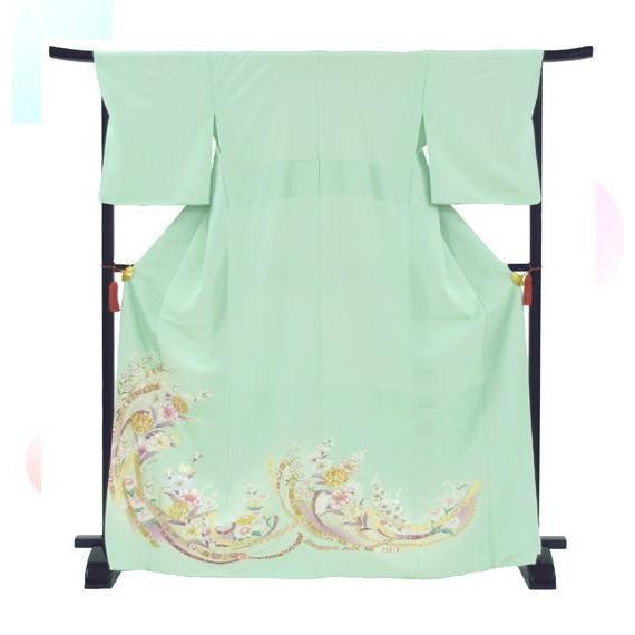 色留袖 レンタル 843番 20点フルセットレンタル 往復送料無料|kimono-world|03