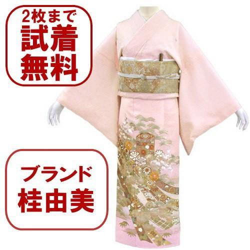 桂由美 色留袖 レンタル 844番 20点フルセットレンタル 往復送料無料|kimono-world