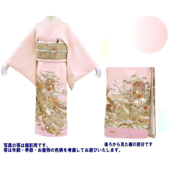 桂由美 色留袖 レンタル 844番 20点フルセットレンタル 往復送料無料|kimono-world|02
