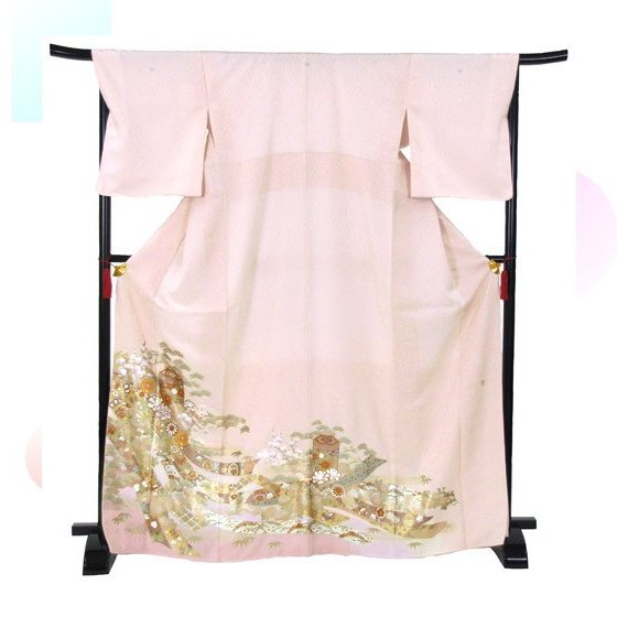 桂由美 色留袖 レンタル 844番 20点フルセットレンタル 往復送料無料|kimono-world|03
