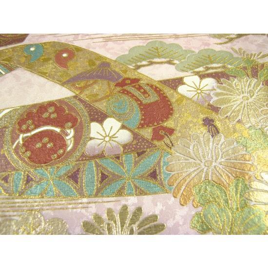 桂由美 色留袖 レンタル 844番 20点フルセットレンタル 往復送料無料|kimono-world|06