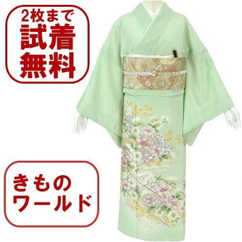 色留袖 レンタル 848番 20点フルセットレンタル 往復送料無料 kimono-world