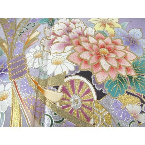 色留袖 レンタル 854番 20点フルセットレンタル 往復送料無料|kimono-world|04