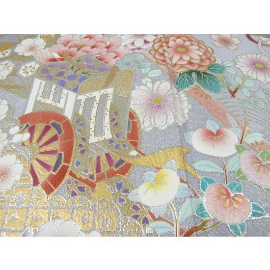色留袖 レンタル 854番 20点フルセットレンタル 往復送料無料|kimono-world|05