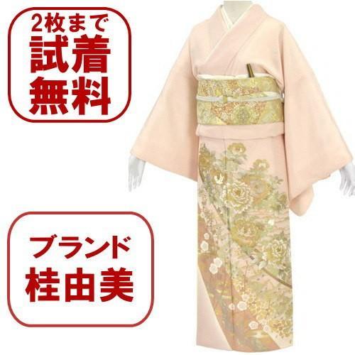 桂由美 色留袖 レンタル 855番 20点フルセットレンタル 往復送料無料|kimono-world