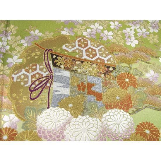 桂由美 色留袖 レンタル 857番 20点フルセットレンタル 往復送料無料|kimono-world|06