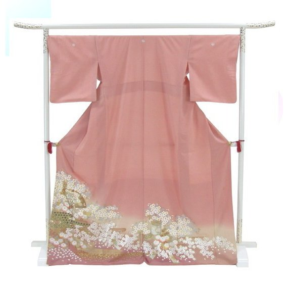 桂由美 色留袖 レンタル 861番 20点フルセットレンタル 往復送料無料|kimono-world|03