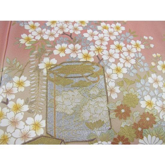 桂由美 色留袖 レンタル 861番 20点フルセットレンタル 往復送料無料|kimono-world|06
